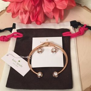 KATE SPADE ♠️ Cuff and earrings 🆕